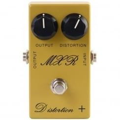 MXR CSP104 Custom Distortion+ Mustard