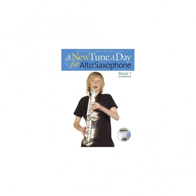 New Tune A Day Alto Sax Book & CD