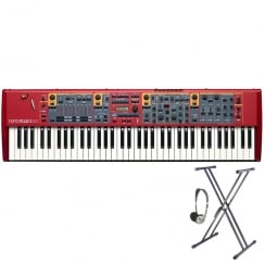 Nord Stage 2 EX Compact 73 Key Semi-Weighted Keyboard