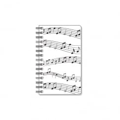 My Music Gifts Notebook Stave design Spiral