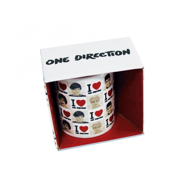 One Direction Boxed Mug I Love 1D + Photo Tiles
