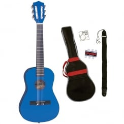 PALMA JUNIOR GUITAR OUTFIT-MET BLUE