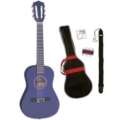 PALMA JUNIOR GUITAR OUTFIT- PURPLE