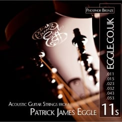 Patrick James Eggle String Set - Acoustic 11 - 53 | PJEAS11
