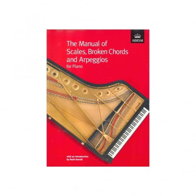 Piano Scales Broken Chords/Arpeggios Manual Abrsm