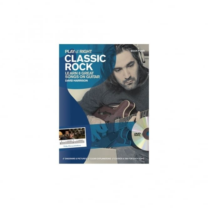 Play It Right Classic Rock Book & DVD