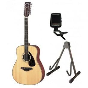 Yamaha  FG720S Acoustic Guitar|12 String|Natural|Package