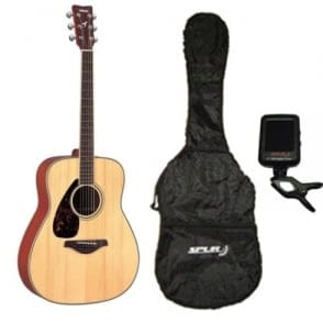 Yamaha  FG720S Acoustic Guitar|Natural|Left Handed|Package