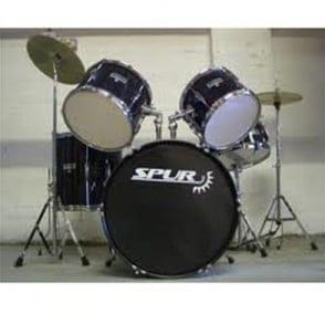 Spur  RSCK1 Full Size Starter Acoustic Drum Kit Black