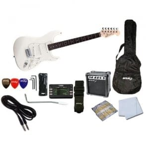 Spur  STC Beginner Electric Guitar Pack | White