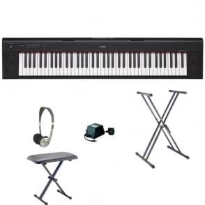 Yamaha  NP32 Keyboard | Black | Bundle