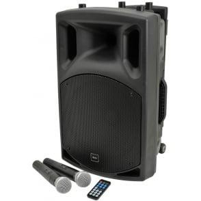 QTX QX12PA portable PA unit with USB/SD/FM player & Bluetooth