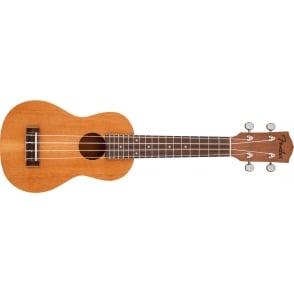 Fender  Piha'eu Soprano Ukulele Natural