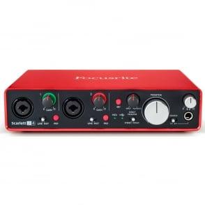 Focusrite  Scarlett 2i4 (2nd Gen) Audio Interface