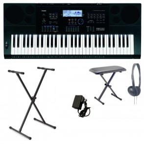 Casio  CTK6200 Keyboard | X Frame, Headphones and X Bench Package