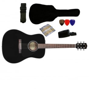 Fender  CD60 Acoustic Guitar Pack Black