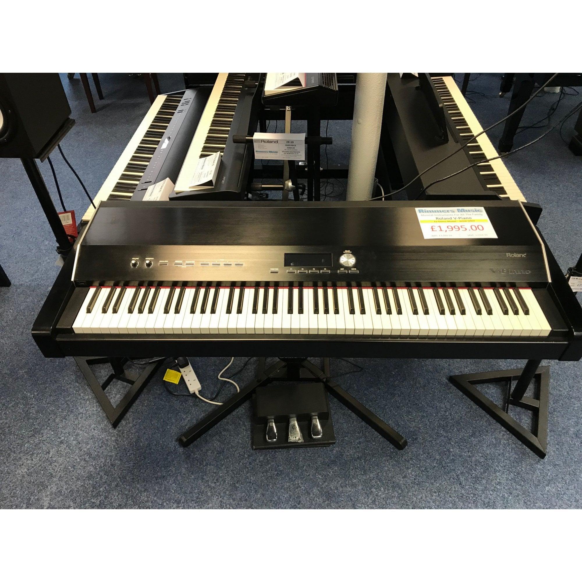 Roland V Piano Digital 88 Keys Piano Listing 2 Ex Display