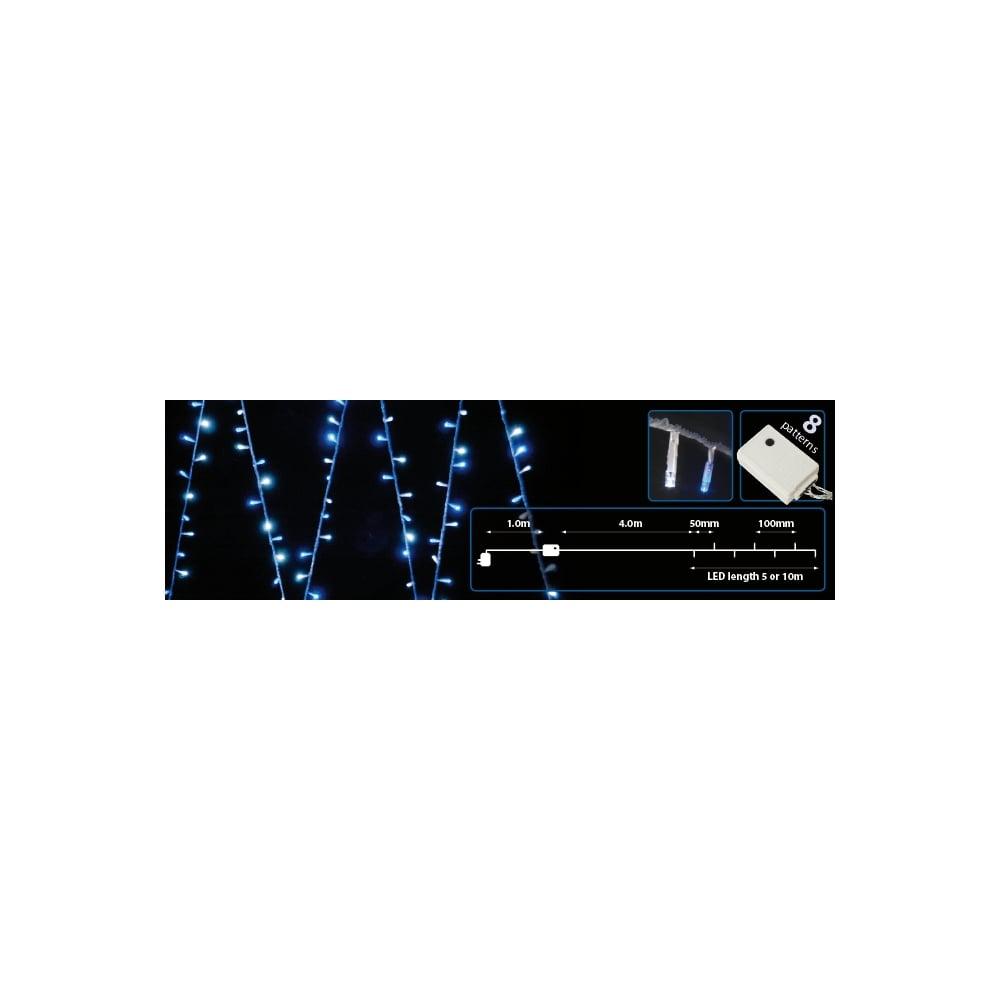 String Of Blue Lights Song : (UK version) 100 LEDs string light - Blue from Rimmers Music