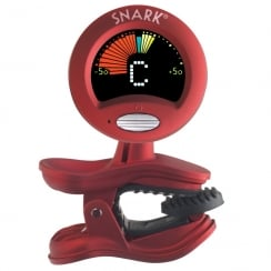 QWIK TUNE/TIME QTSN2 SNARK ALL INSTRUMENT CLIP ON TUNER - RED