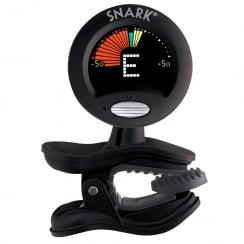 QWIK TUNE/TIME QTSN5 SNARK GUITAR- BASS AND VIOLIN CLIP ON TUNER - BLACK