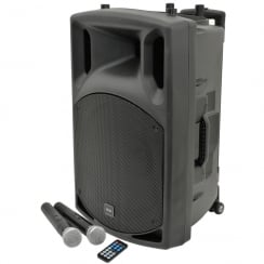QTX QX15PA portable PA unit with USB/SD/FM player & Bluetooth