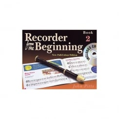 E J Arnold Recorder From The Beginning (Colour) 2 Pupils + CD