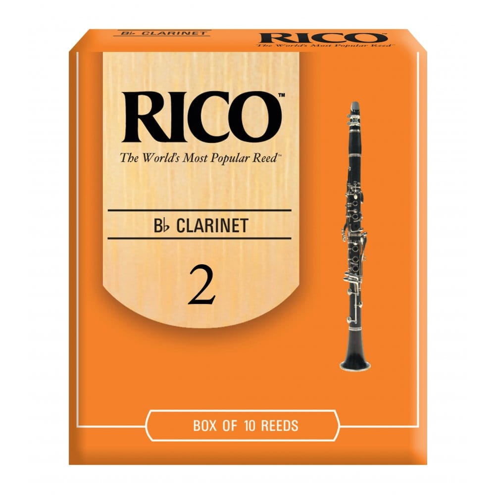 Strength 2.0 Rico Plasticover Bb Clarinet Reeds 5-pack