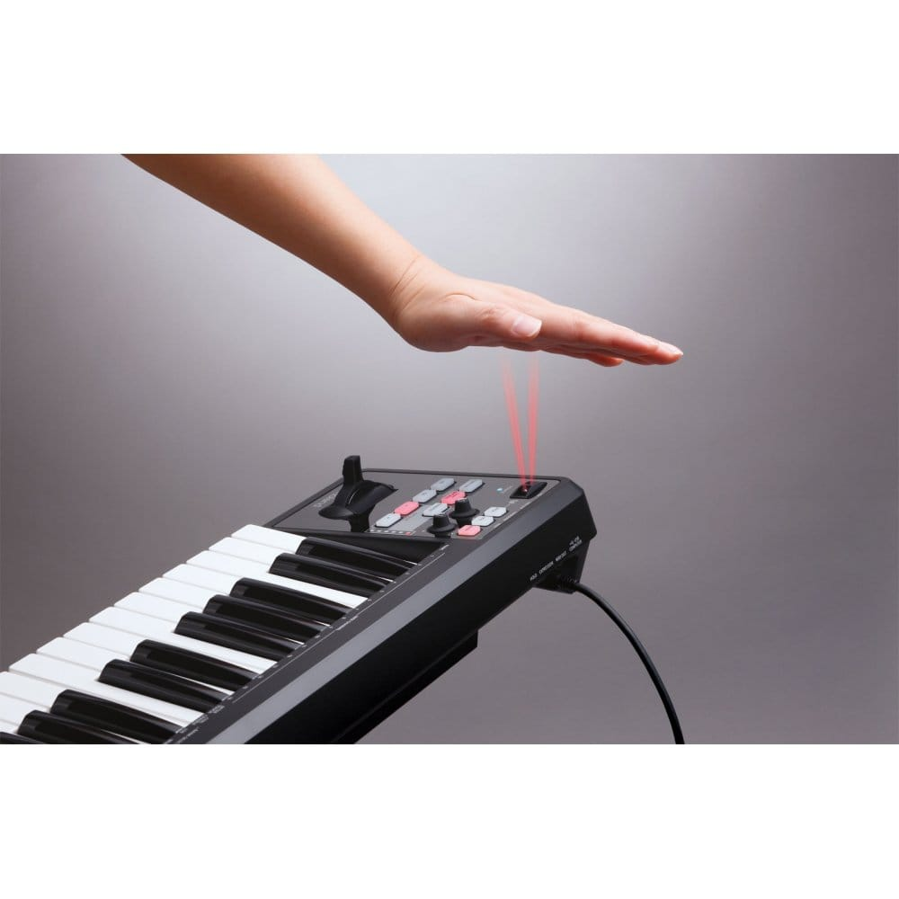 roland a49 midi keyboard controller in black from rimmers music. Black Bedroom Furniture Sets. Home Design Ideas