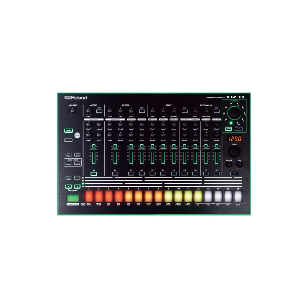 roland aira tr 8 rhythm performer from rimmers music. Black Bedroom Furniture Sets. Home Design Ideas