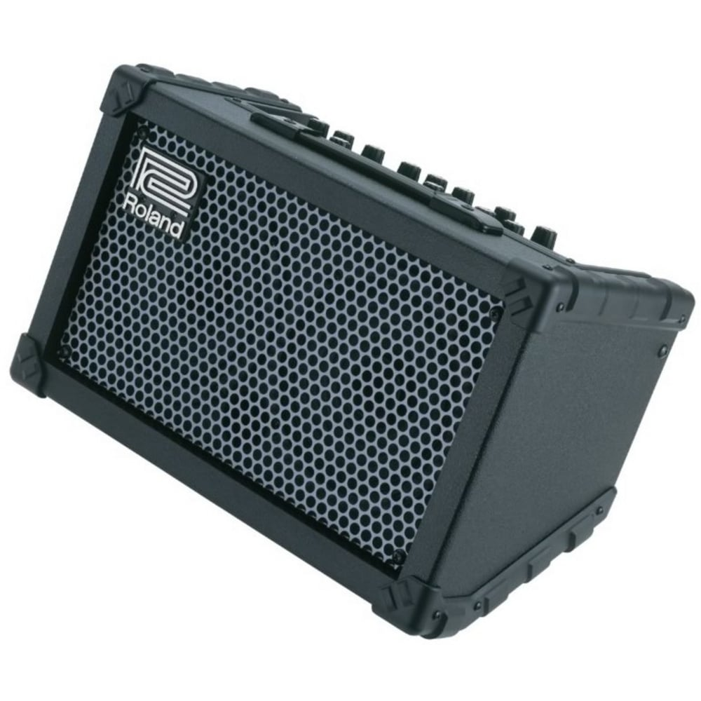 roland cube street battery powered guitar amplifier. Black Bedroom Furniture Sets. Home Design Ideas