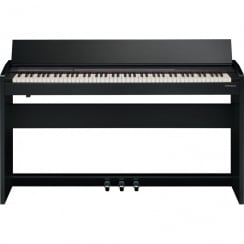 Roland F 140R Digital Piano in Contemporary Black
