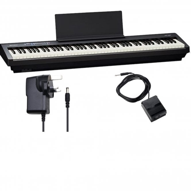 Roland Fp30 Digital Piano Bundle Black From Rimmers Music