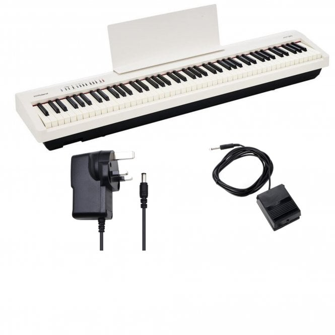 roland fp30 digital piano white with uk mainland delivery. Black Bedroom Furniture Sets. Home Design Ideas