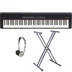 Roland FP50 Black Portable Piano | Replaces FP4F