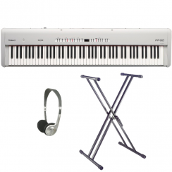 Roland FP50 White Portable Piano | Replaces FP4F