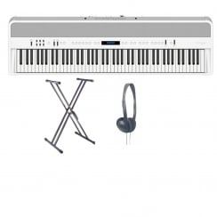 Roland FP90 WH Portable Digital Piano | White | Bundle