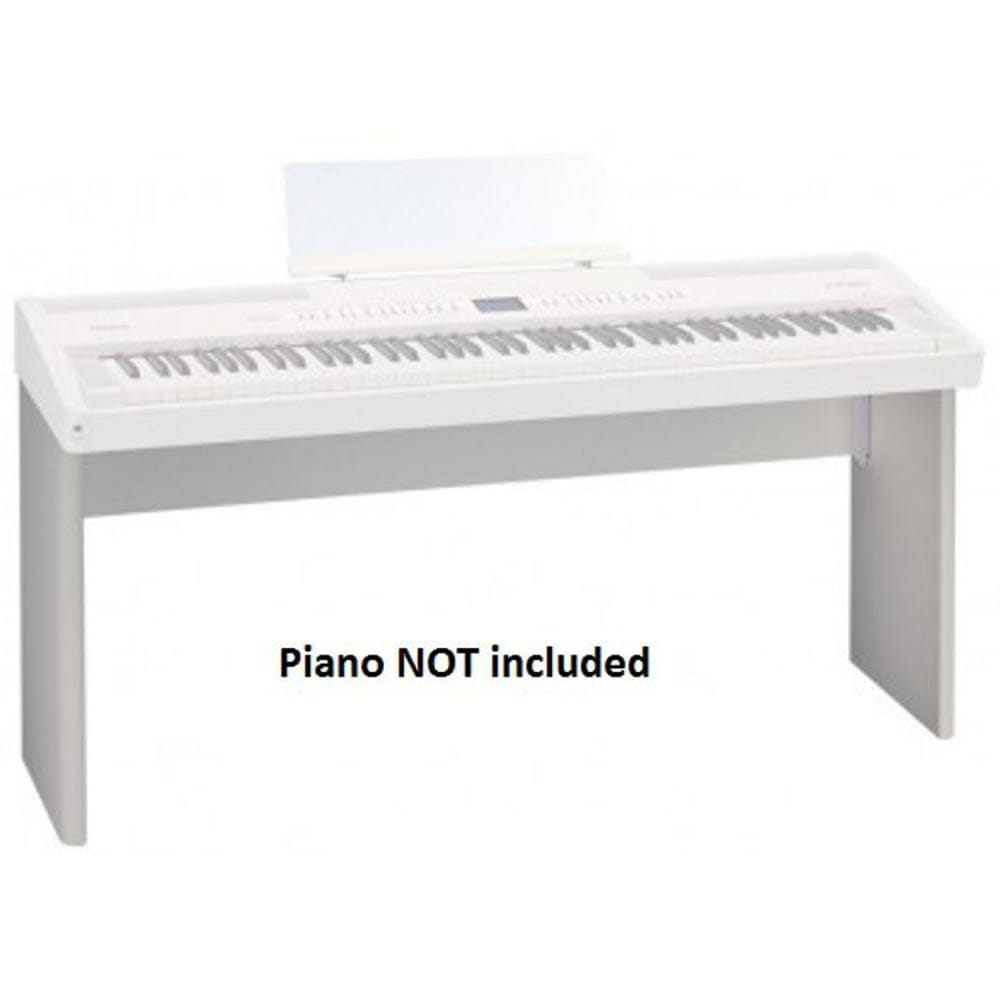 roland ksc76wh white piano stand from rimmers music. Black Bedroom Furniture Sets. Home Design Ideas