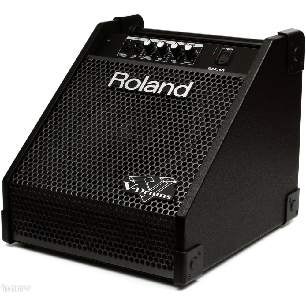 roland pm10 personal drum monitor amplifier. Black Bedroom Furniture Sets. Home Design Ideas