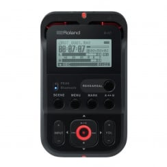 Roland R-07 High Resolution Audio Recorder Black