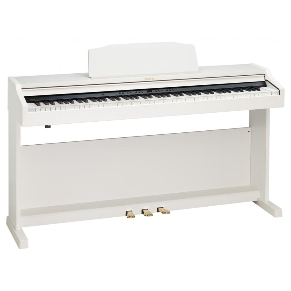 roland rp401r digital piano white from rocking rooster. Black Bedroom Furniture Sets. Home Design Ideas