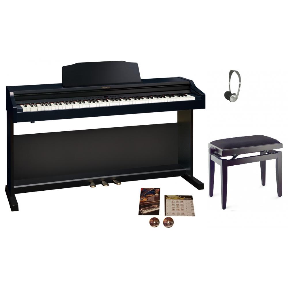 Roland RP401R Digital Piano   Contemporary Black