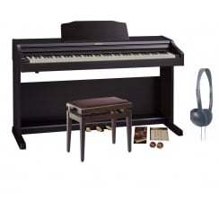 Roland RP501R Digital Piano | Contemporary Rosewood | Bundle