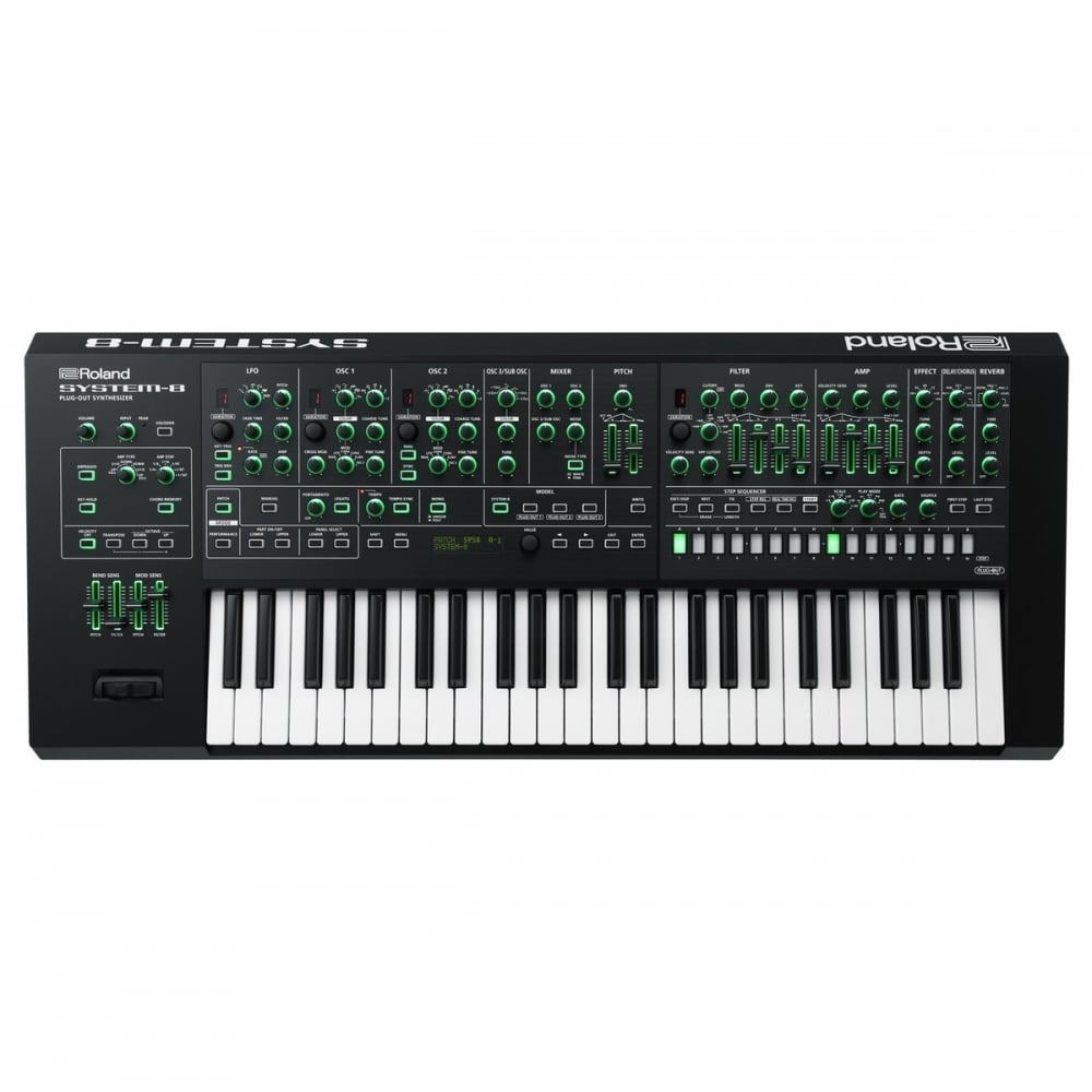 roland system 8 aira plug out synthesizer from rimmers music. Black Bedroom Furniture Sets. Home Design Ideas