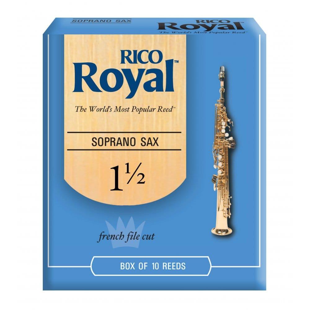 Rico Soprano Saxophone Reeds 3-Pack
