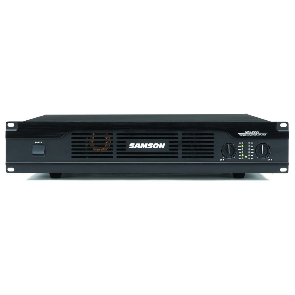 samson msx 3000 power amplifier from rimmers music. Black Bedroom Furniture Sets. Home Design Ideas