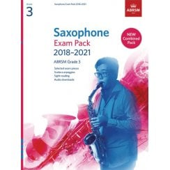 Associated Board Saxophone Exam Pack 2018-2021 Grade 3 Complete Ab