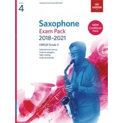 Associated Board Saxophone Exam Pack 2018-2021 Grade 4 Complete Ab