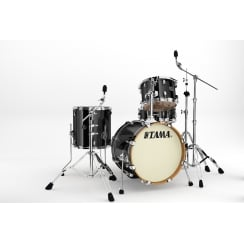 Tama Silverstar 4pc Drum Shell Pack 18'' | Brushed Charcoal Black