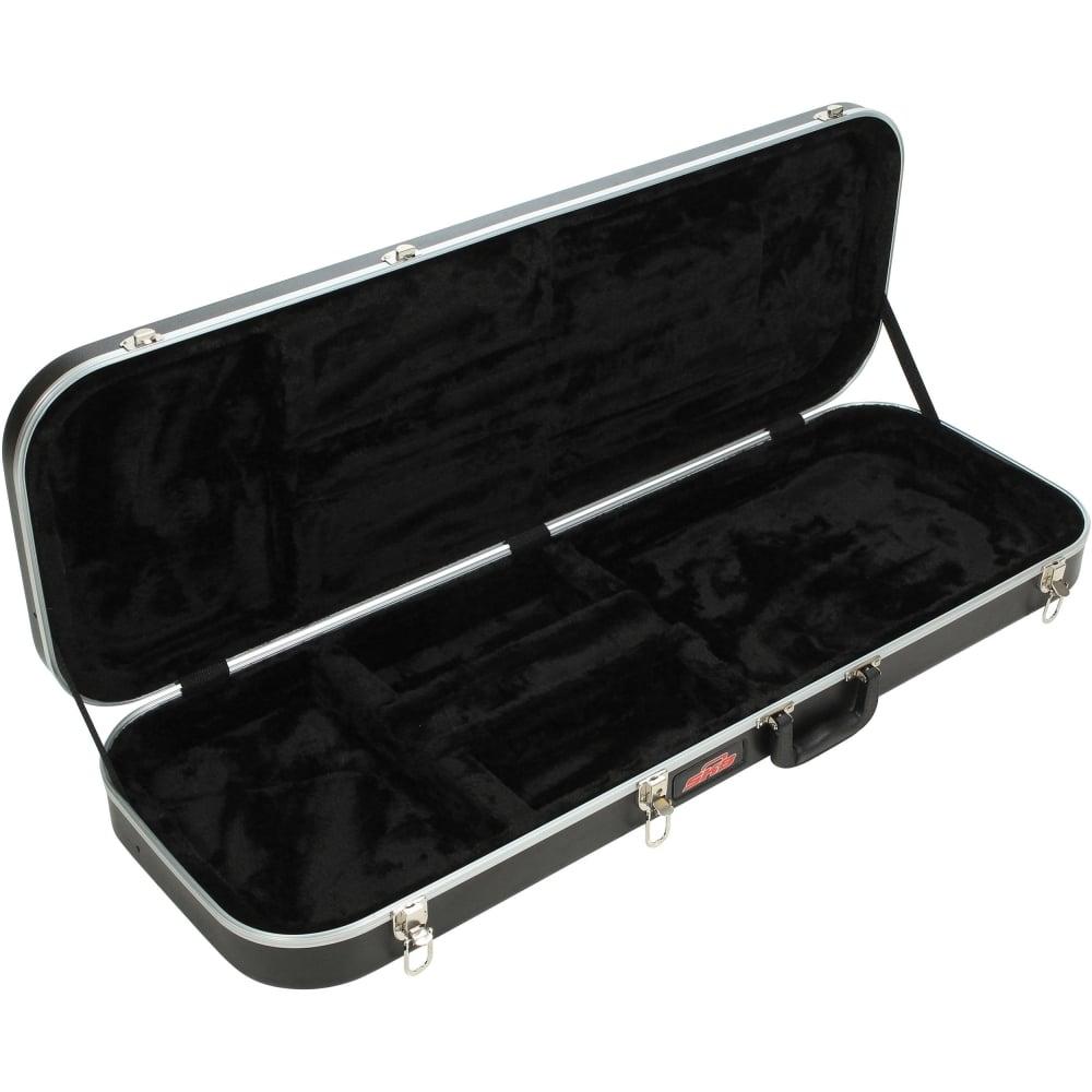 skb electric guitar economy rectangular hard case. Black Bedroom Furniture Sets. Home Design Ideas