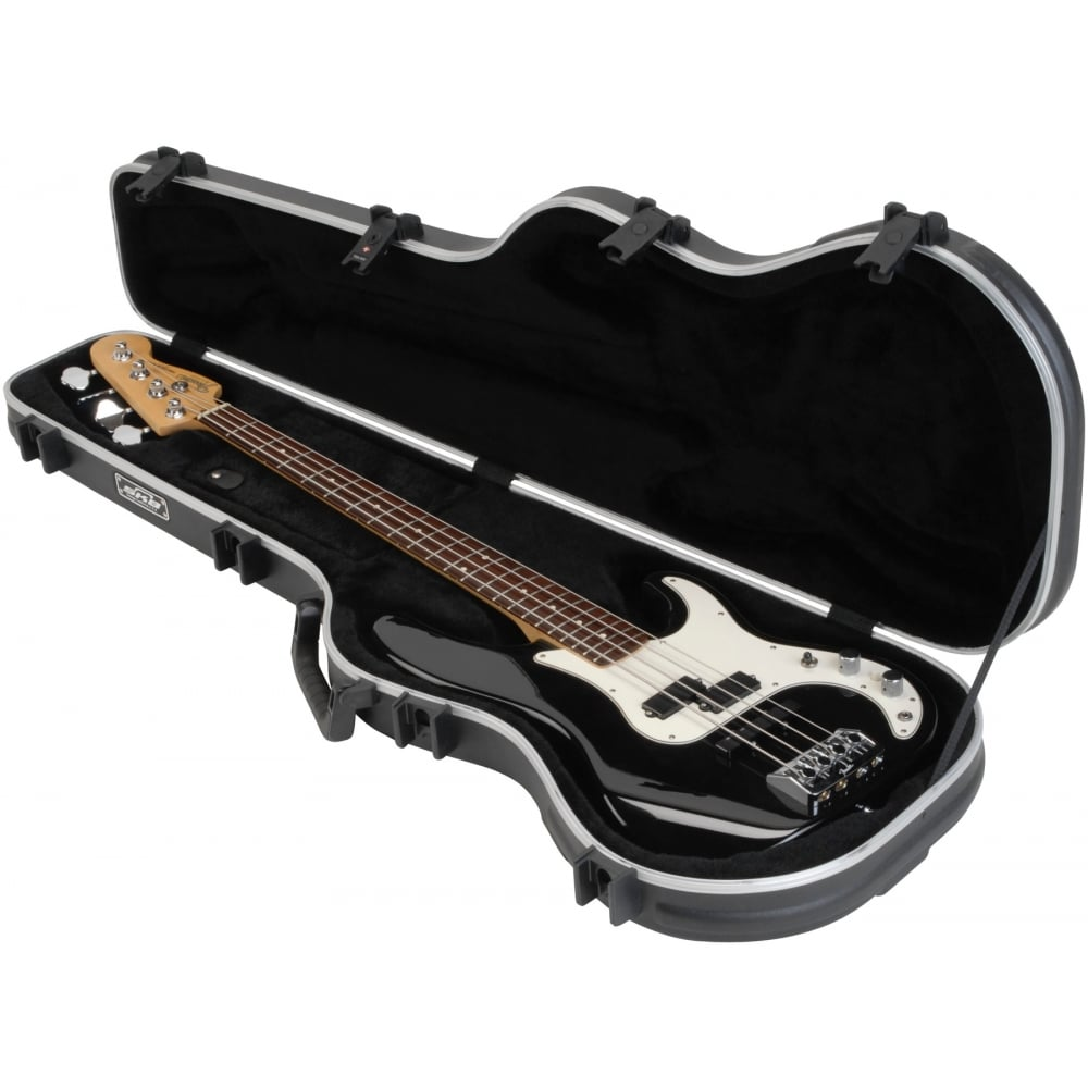 skb shaped standard bass guitar hard case. Black Bedroom Furniture Sets. Home Design Ideas